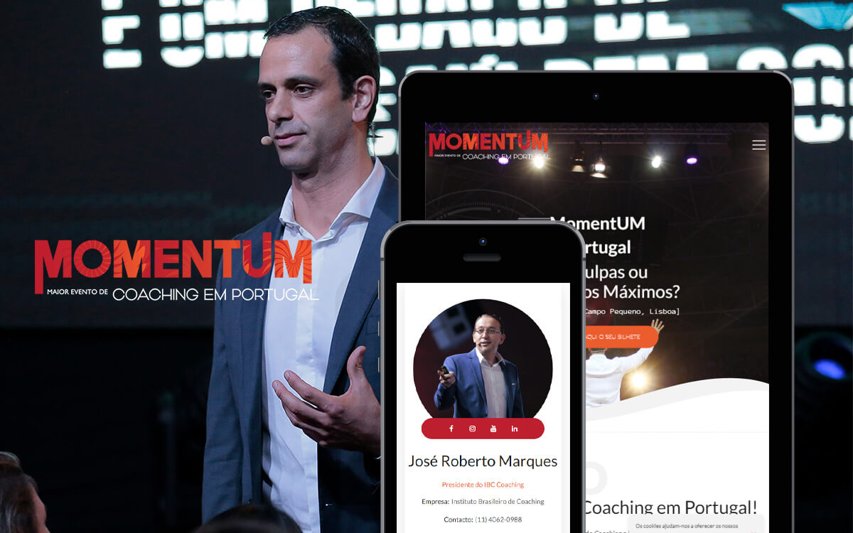 MomentUM Portugal: ¡el mayor evento de coaching en Portugal!