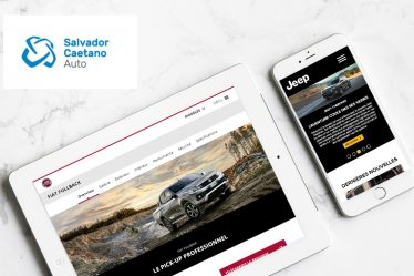 New websites Fiat and Jeep Africa