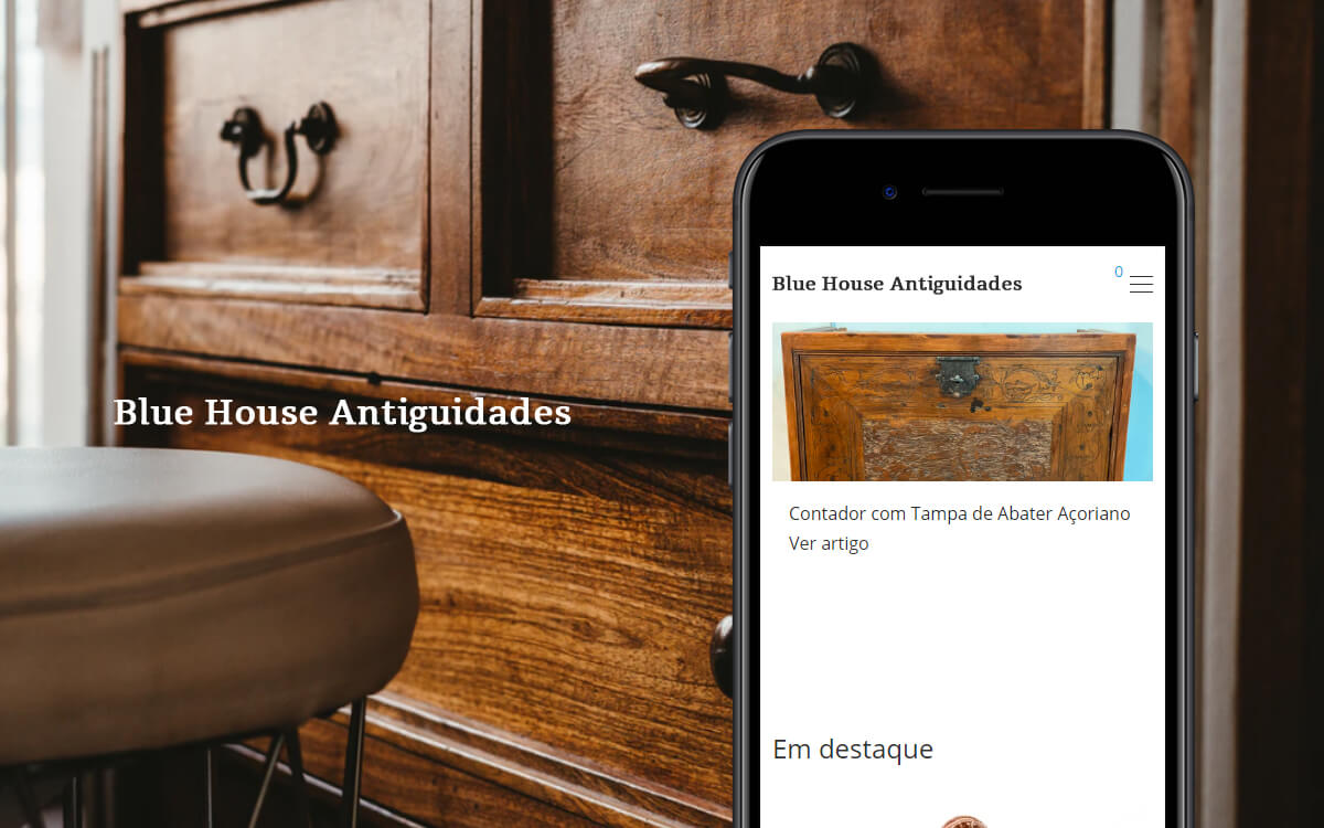 Blue House Antiguidades